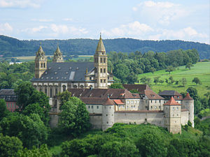 English: Comburg in Schwäbisch Hall, Germany (...