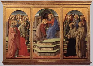 Filippo Lippi, Coronation of the Virgin, 1441-...