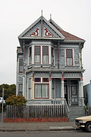 Not all the classy old houses in Eureka are in...