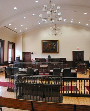 Historic courtroom still in use in Brockville,...