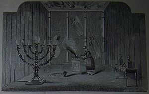 The Holy Place of the Biblical Tabernacle; ill...