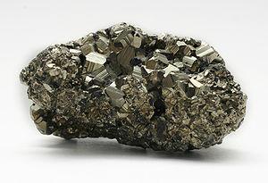 Pyrite (iron disulfide)
