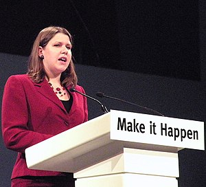 English: Jo Swinson MP addressing a Liberal De...