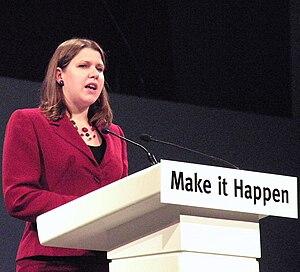 English: Jo Swinson MP addressing a Liberal De...