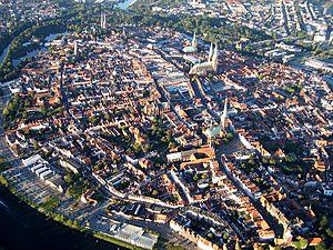 Deutsch: Altstadt von Lübeck