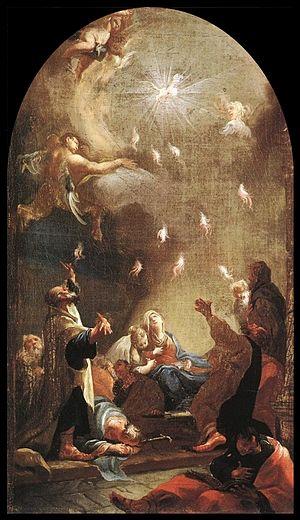Mildorfer, Josef Ignaz - Pentecost - 1750s