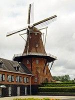 De Immigrant (O Imigrante), moinho em estilo holandês na colônia neerlandesa de Castrolanda, em Castro.