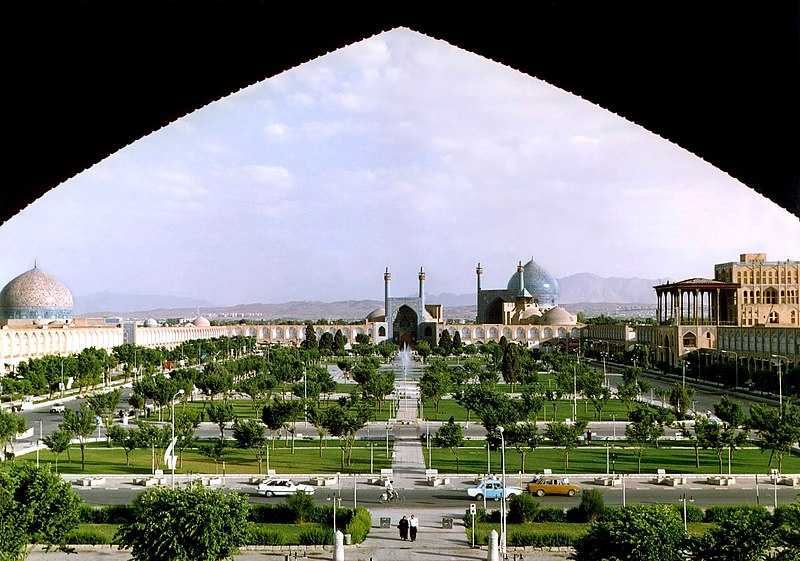File:Naghshe Jahan Square Isfahan modified.jpg