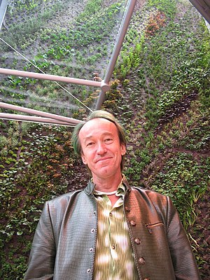 Jardin vertical de Patrick Blanc. Inauguration...