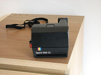 Polski: Polaroid Spirit 600 CL - instant camera
