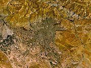 نگارهٔ ماهوارهای از تهران