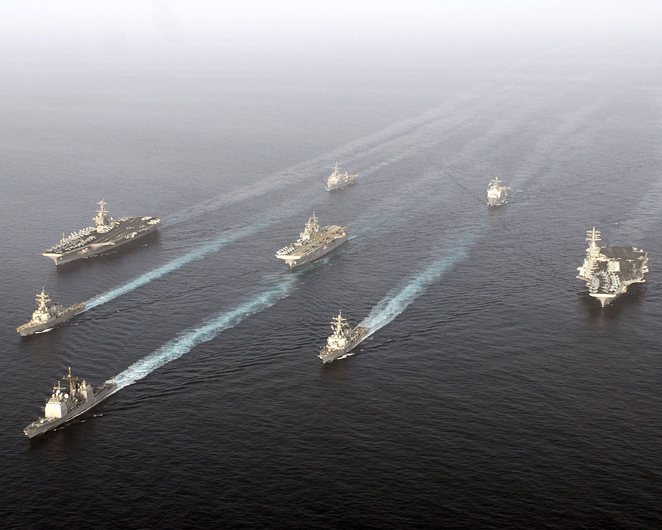 The USS Stennis Carrier Strike Group