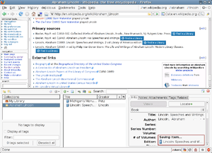 An example of both Zotero and OpenURL referrer...