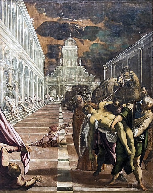 """""""Saint Mark's Body Brought to Venice"""" by Tintoretto"""