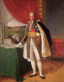 Le maréchal André Masséna (peinture de Louis Hersent).