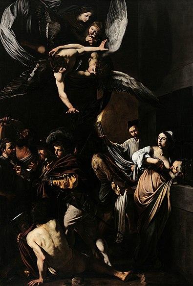 File:Caravaggio - Sette opere di Misericordia.jpg