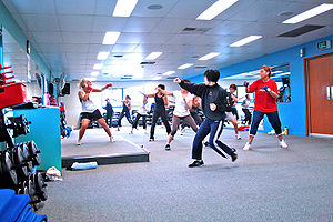 Cardio Boxing Group Fitness Class