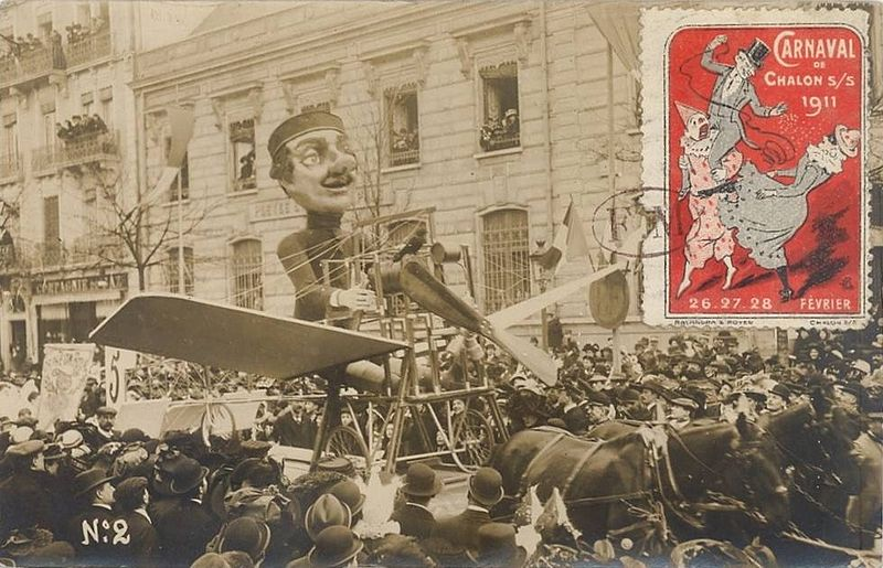 File:Carnaval de Chalon-sur-Saône 1911 - Char de l'aviation.jpg