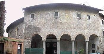 Santo Stefano Rotondo is the most ancient exam...