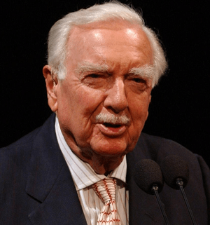 English: Legendary CBS newsman Walter Cronkite...