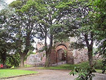 Egremont Castle was in the town of Egremont, C...