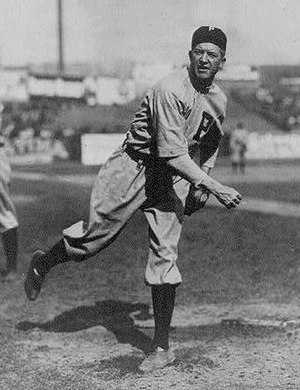 Grover Cleveland Alexander of the Philadelphia...