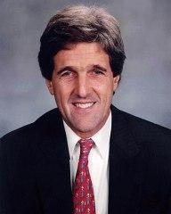 U.S. Senator John Kerry of Massachusetts