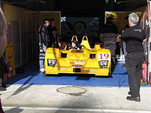 A Lola B06/10 at the 2007 24 Hours of Le Mans
