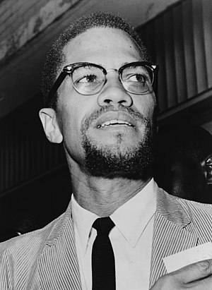 Malcolm X at Queens Court
