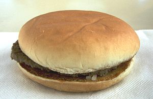McDonald's Hamburger 2007