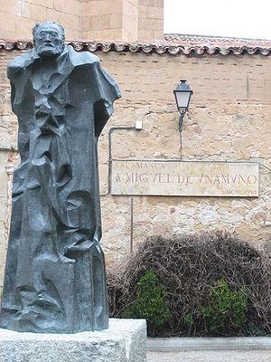 Español: Monumento a don Miguel de Unamuno de ...