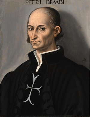 English: Portrait of Pietro Bembo by Lucas Cra...