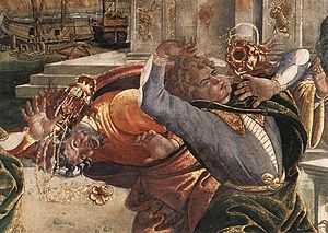 Sandro Botticelli - The Punishment of Korah an...