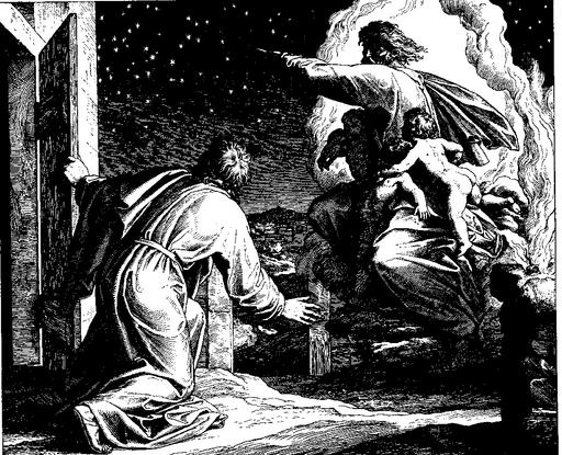 Schnorr von Carolsfeld Bibel in Bildern 1860 024