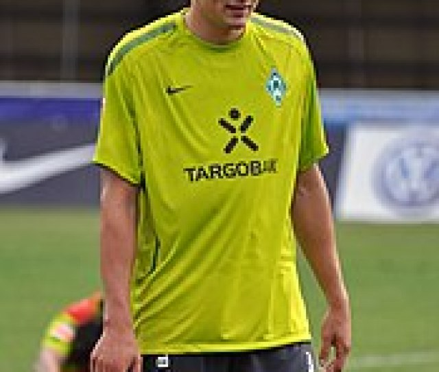Prodl In Training During His Time At Werder Bremen