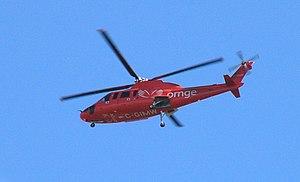 English: Ontario air ambulance S-76A