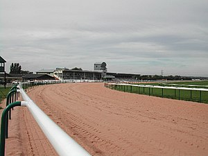 The stands, Southwell Racecourse.