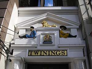 Old Twinings Shop on The Strand, London