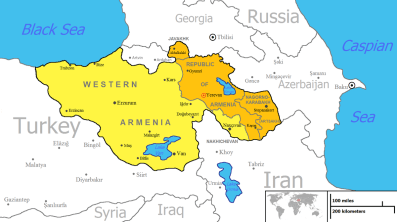 Image result for Armenia is granted independence from Soviet Union