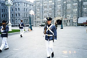 A West Point cadet walks punishment tours, aka...