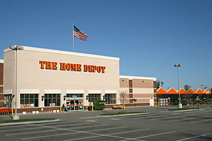 The Home Depot in Knightdale, North Carolina.