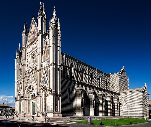 Cathedral of Orvieto - global view