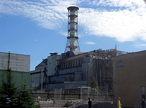 The Chernobyl reactor #4