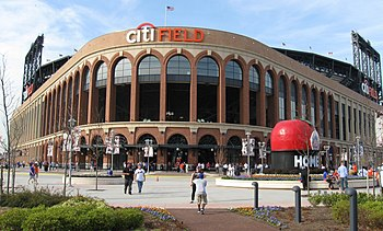 English: Citi Field with Shea Stadium's Home R...