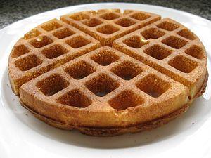 English: Crispy Waffle.