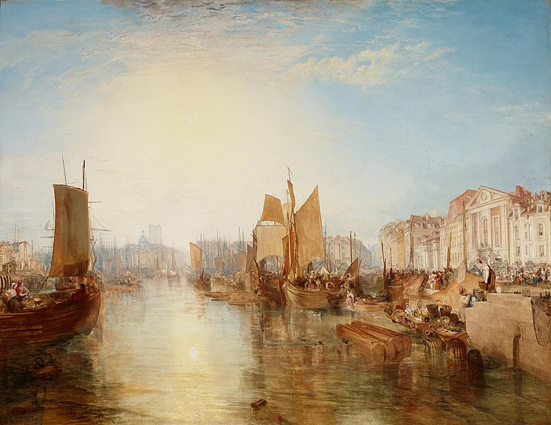 File:Joseph Mallord William Turner - The Harbor of Dieppe - Google Art Project.jpg