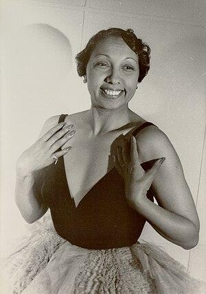 Portrait of Josephine Baker, Paris