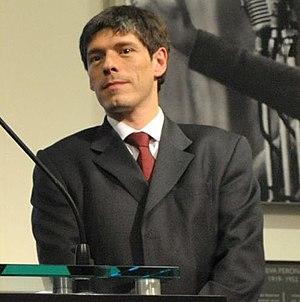 English: Juan Manuel Abal Medina en el acto re...