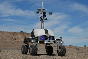 "English: NASA's K10 robot ""Black"" un..."