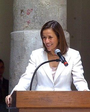 Wife of Mexican President Felipe Calderón and ...